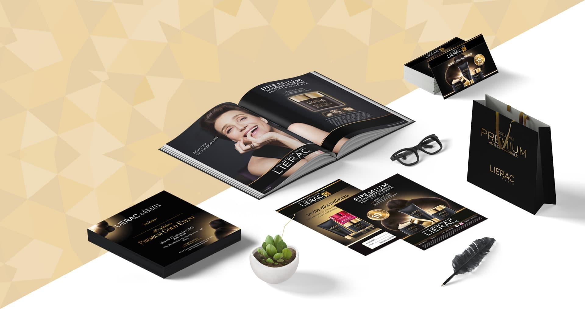 Lierac Premium Campaign